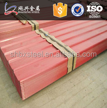 Construction Materials Fast Installation Color Roofing Tiles