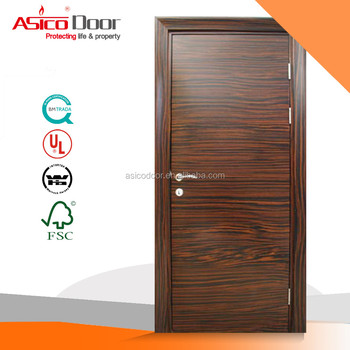 Asico Wn 69-09 Bs476 Standard 2 Hours Fire Rated Wooden Door - Buy 2 ...