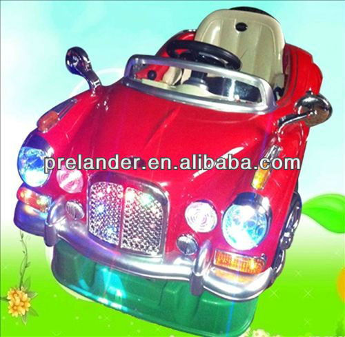 Attractive plastic bubble car rocking ride for kiddie indoor&outdoor amusement games