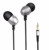 mobile sport earphone & headphone, zipper headphone in ear earphone for iPhone/for android phones