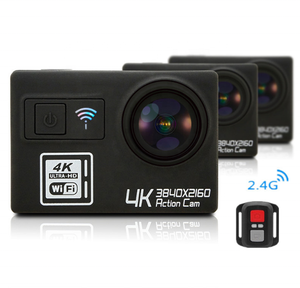 New WiFi Diving Hiking Skating Surfing Outdoor Waterproof WiFi Sport Video Camcorder Sports Action Camera 4K Ultra HD 1080P