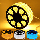 2835/3014/5730/335 100 m/roll tira flexível branco 110 V Rós 12 V plana rgb 5050 led light strip 220-240 v
