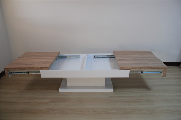 new design wooden expandable coffee table for living room