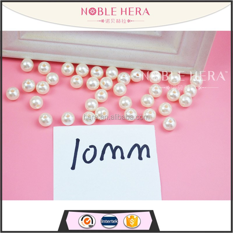 High Quality 10mm Round Seed Loose Pearls Ornaments W02