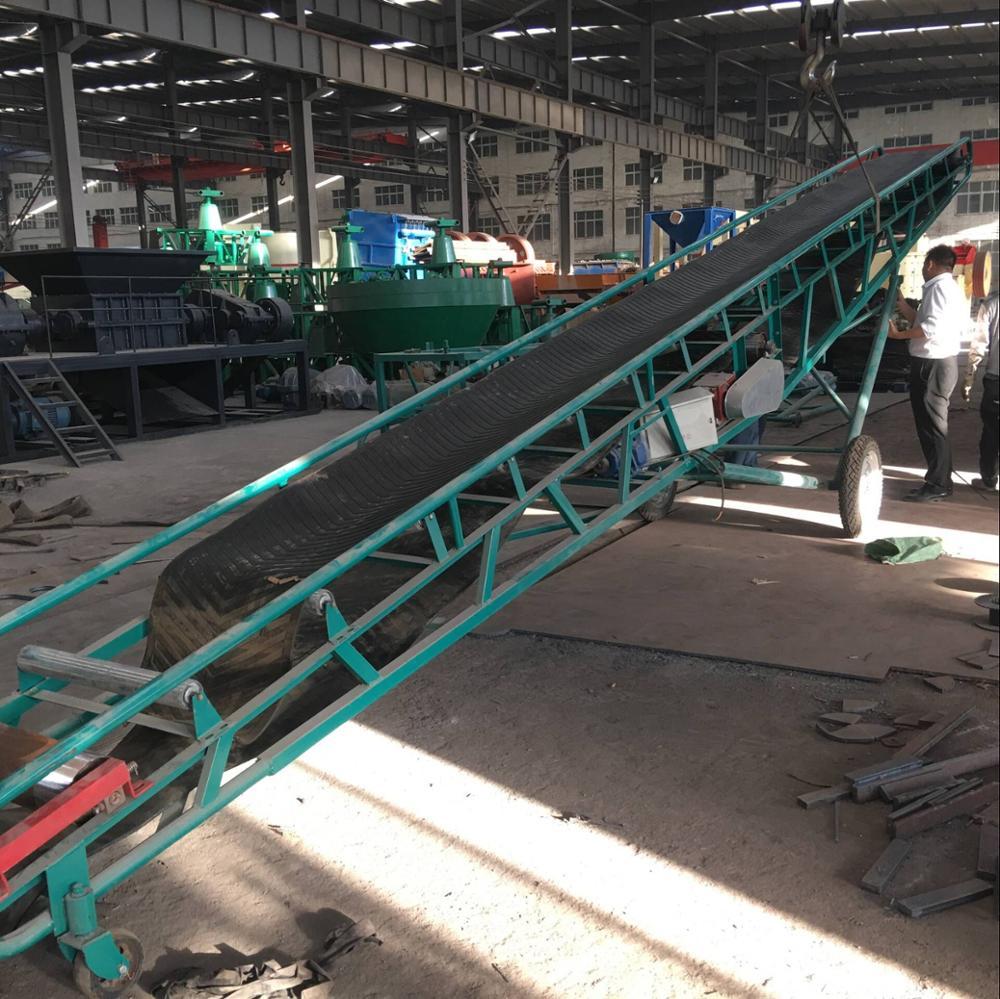 Portable Coal Belt Conveyor /mobile Elevating Conveyor With Stainless Steel  Conveyor Belt - Buy High Quality Belt Conveyor,Steel Cable Belt