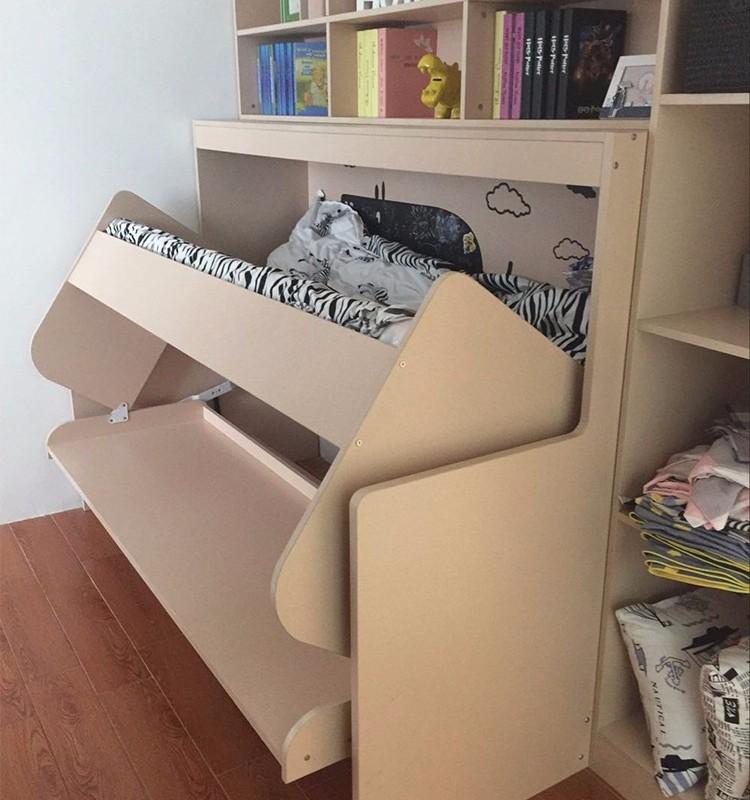 Modische Wand Bett Kinder Wand Bett Schreibtisch Schlafzimmer Klappbett Mit  Schreibtisch