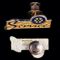 wholesale hat lapel pins 1.75'' size zinc alloy soft enamel with lock pin