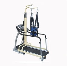 Medical equipment gait trainer unweight system device