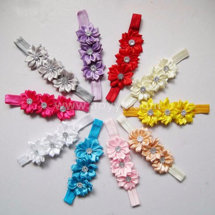 The New Flowers Baby Handmade Hair Band Children Hair Accessories ... 7eeb905a1ee