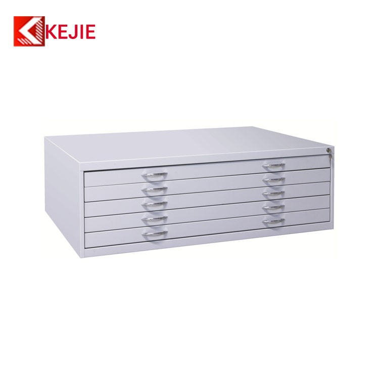 China Hot Sale Construction Used Steel Drawing Storage Cabinet Map ...
