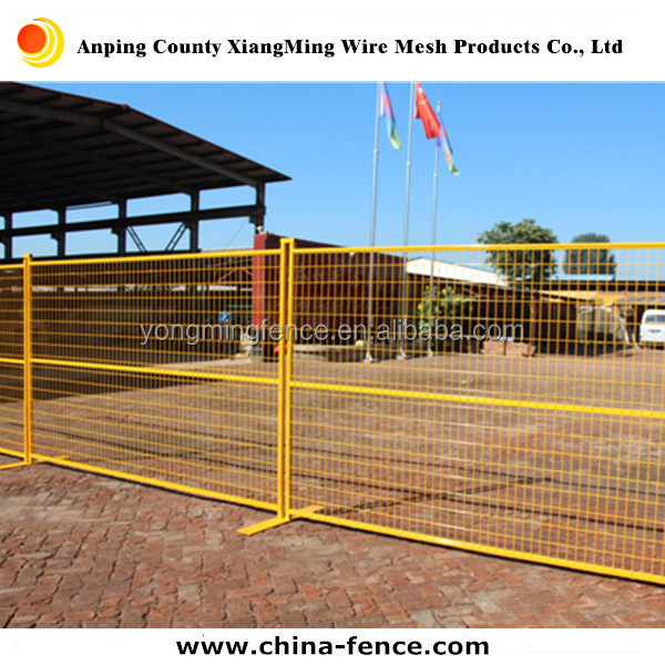 America hot sale roadside temporary fencing / wire mesh fencing panels
