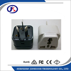AC 100-240V EU/US/UK to AU 3 pin Australia plug adapter plug converter