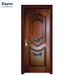 Low prices wooden door designs bedroom wooden pvc door in Sri Lanka