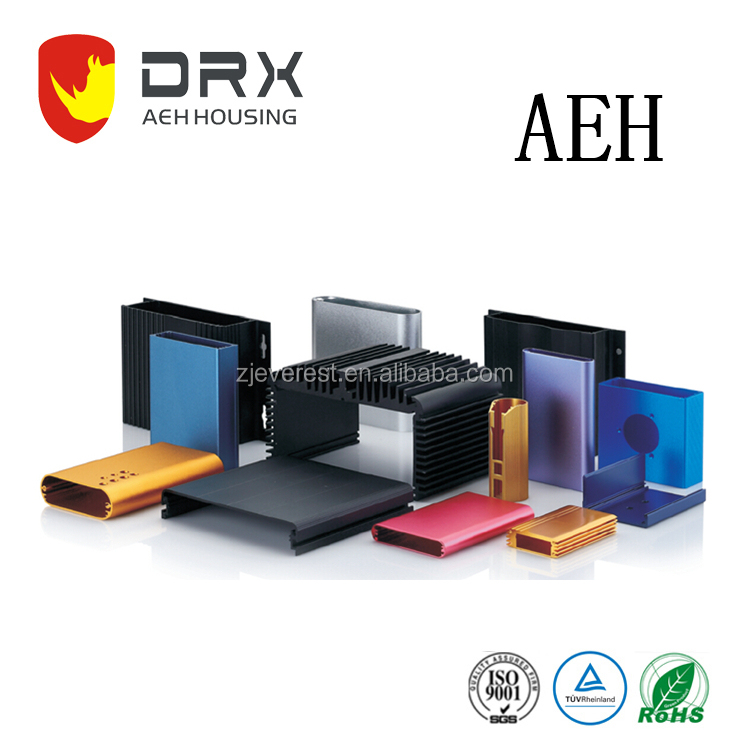 AEH167 anodized Aluminum extrusion enclosure for security