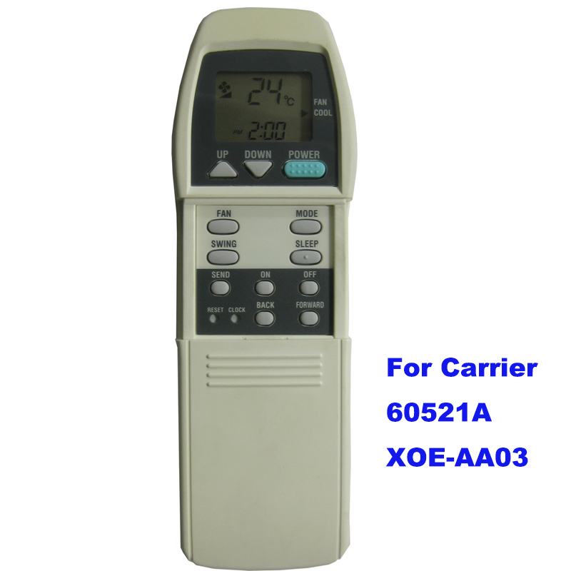 air conditional remote control for Carrier 60521A XOE-AA03 digital wireless remote control switch