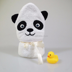 Baby hooded towel custom soft bamboo baby washcloth wholesale