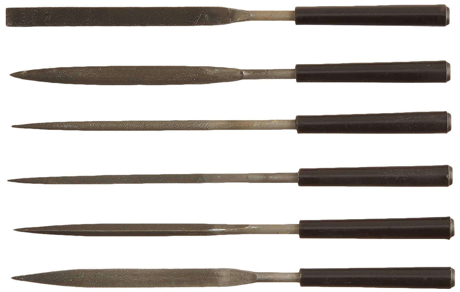 STANLEY Hand File Set,American,5 Pieces 22-314