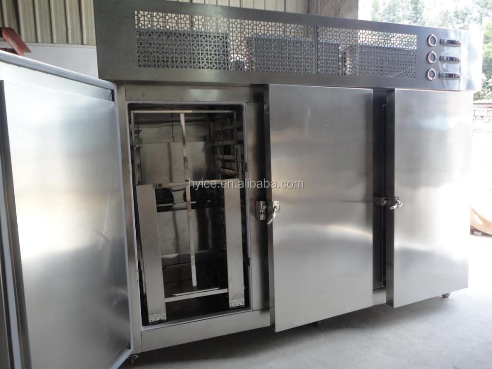 3 - door carts 33 plate low temperature food blast freezer/quickzer with carts & 3 - Door Carts 33 Plate Low Temperature Food Blast Freezer ... pezcame.com