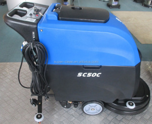 Auto Floor Scrubber With Cable for hotel,airport