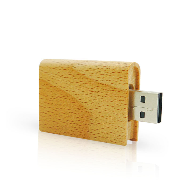 Wooden Book 8GB USB Flash Pen Drive 2.0 Memory Stick Storage