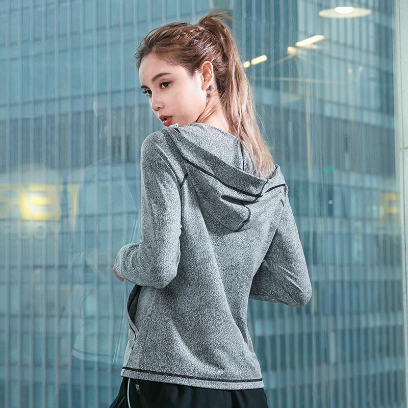 Winter-New-Windproof-Hooded-Zipper-Women-Sports