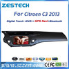 ZESTECH central multimedia car dvd for Citroen C3 with dvd radio tv and gps navigation