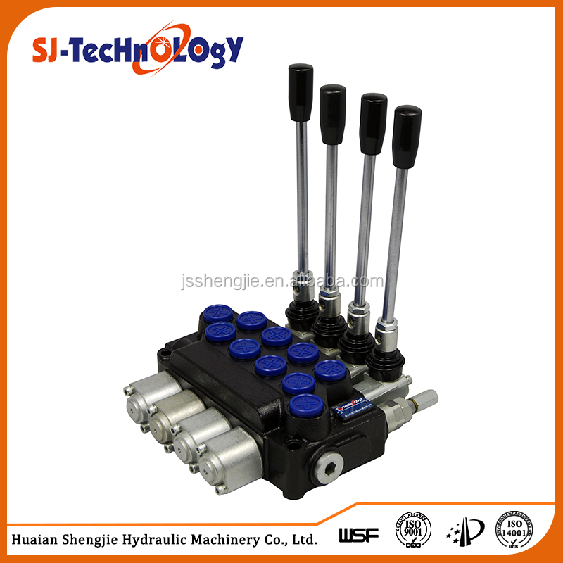 Monoblock directional control valve with manual control, hydraulic monoblock contro valve for truck, tractor, control valve