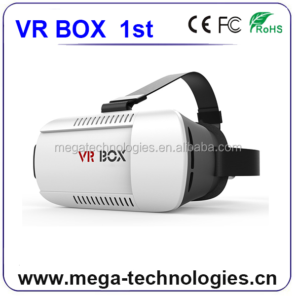 Top-Rated Supplier vr box version 3d virtual reality glasses