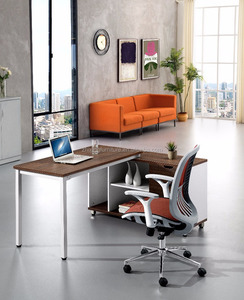 Zhixing Modern Design New Model open office MDF furniture executive table office table