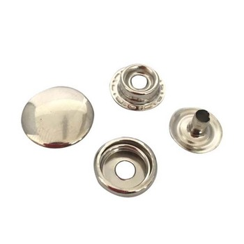classic 4 parts metal snap fastener button