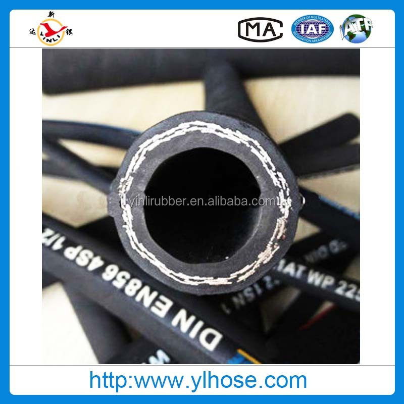 Two Layers Wire Braid Hydraulic Hose/synthetic Rubber