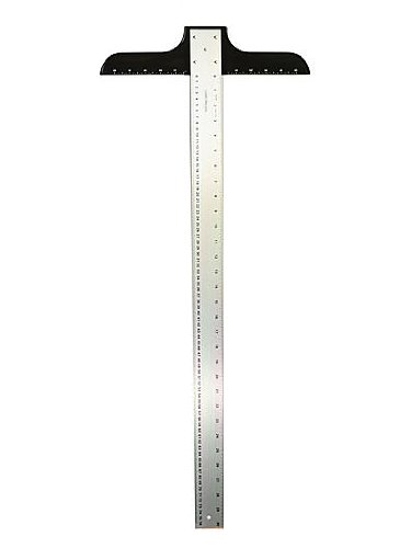 """Alumicolor Ludwig Precision Heavy Duty T-Square Blade, 30"""""""
