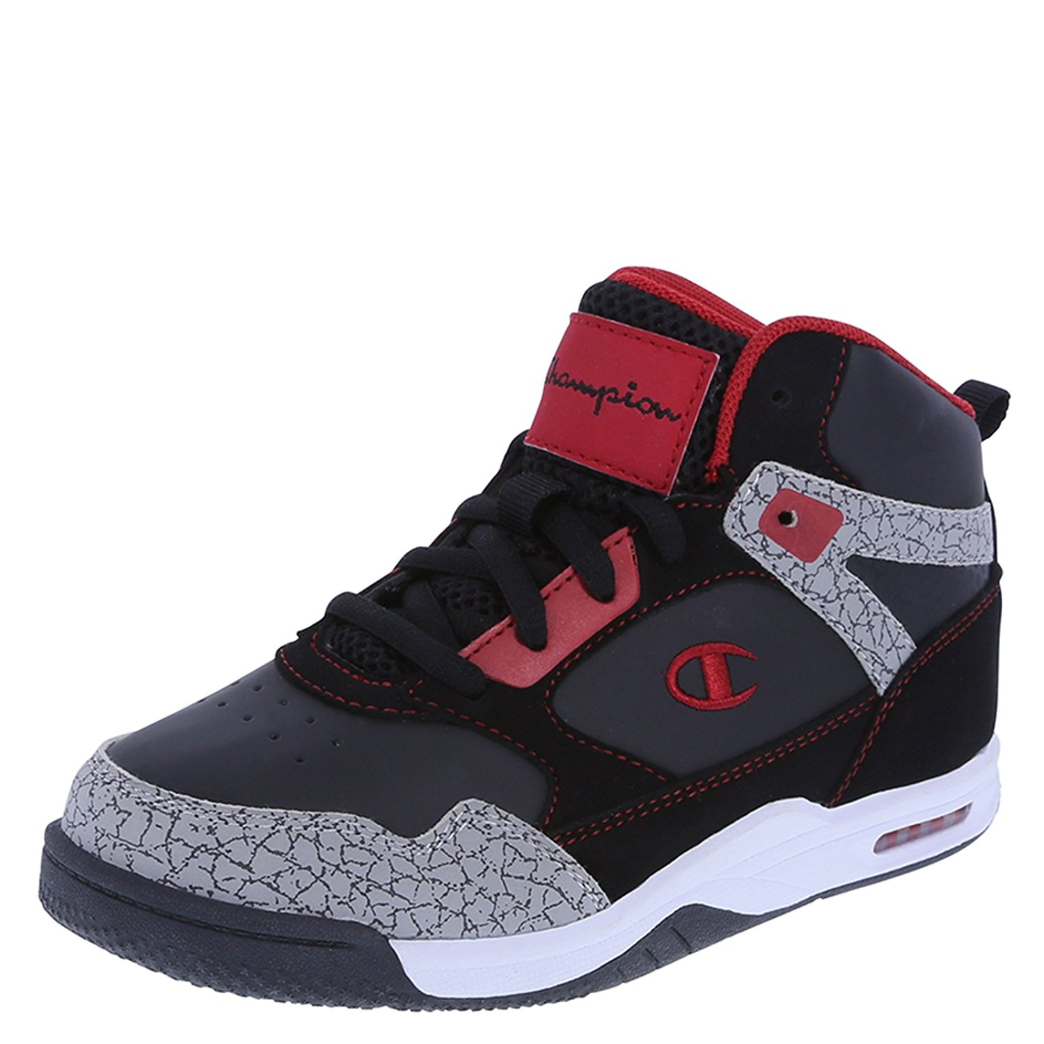 9be1a57160f9f Get Quotations · Champion Boys  Flame Basketball Shoe