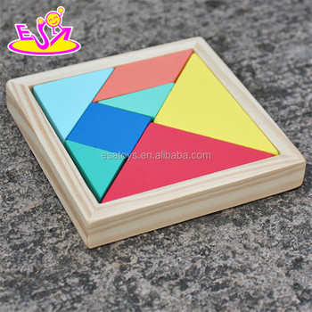 Intelligent Wooden 2d Puzzlesolid Wood Tangram Game For Kids W14a178 Buy Wooden Puzzlejigsaw Puzzle3d Puzzle Product On Alibabacom
