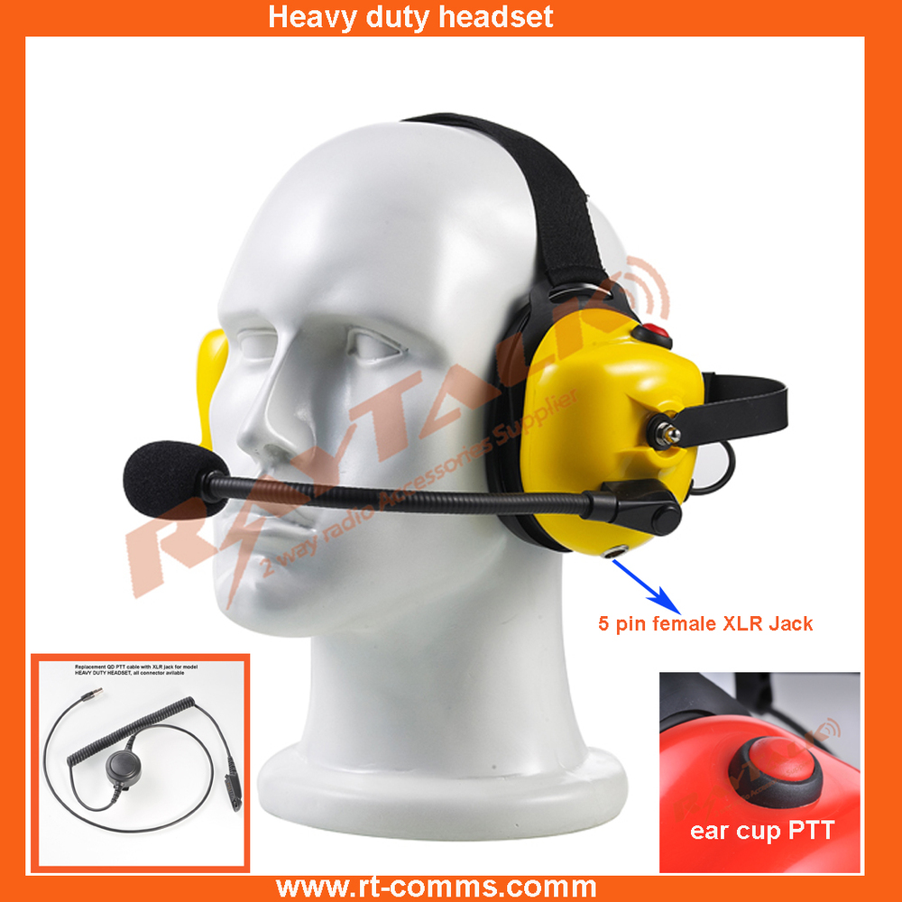 Industrial Noise Cancelling Headphones Heavy Duty Headset