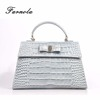 Newest Design Wholesale Lady Genuine Crocodile Leather Handbag for woman