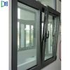 lys factory manufacturing Hung Aluminum Manufacturer Double / Single Glazing Windows Storm Sash Track Window
