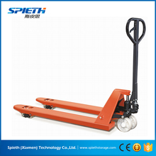 China Low Price df 2 Ton Ce Hydraulic Rubber Wheel Manual Hand Pallet Truck