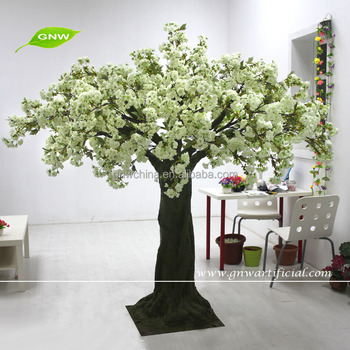 Gnw bls037 limegreen silk cherry blossom trees artificial flower gnw bls037 limegreen silk cherry blossom trees artificial flower wedding tree mightylinksfo Images