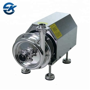 Sanitary stainless steel SS316L centrifugal pump for food grade industry