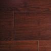 Flat Red Color 14mm Solid Bamboo Flooring