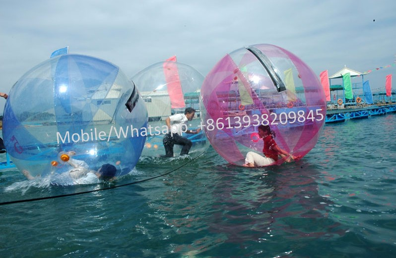 pvc inflatable touch balloon /giant clear water ball/inflatable beach balloon for sale