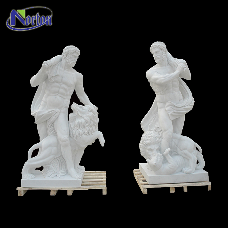 Factory Supply Life Size Antique Greek Stone Garden Products Marble Poseidon Statues With Tiger Sculpture Buy Poseidon Statues Antique Marble
