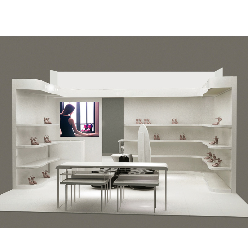 Special design bag/shoe display cabinet  with factory price