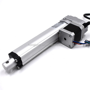 High precision stepper motor linear actuator for industrial automatic robot