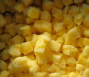 frozen iqf wholesale pineapple