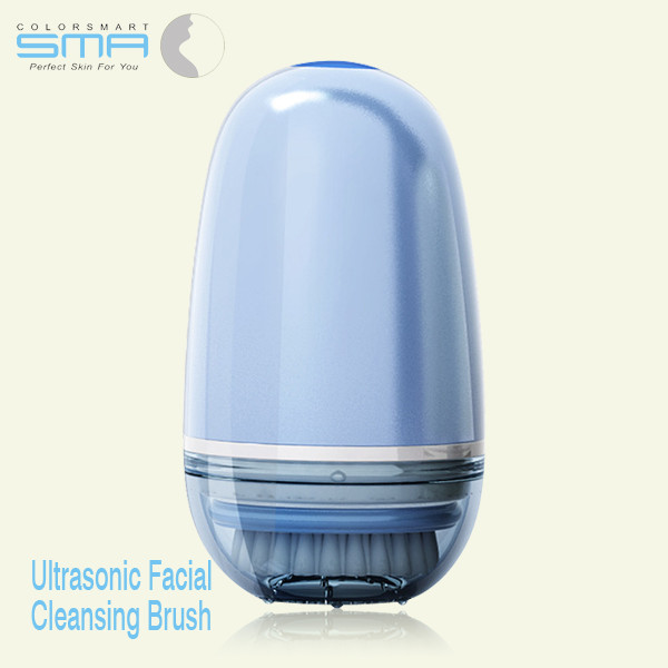 New Adult Cheap Waterproof Battery Operated Deep Cleansing Mini Ultra Sonic Rotating Brush For Facial
