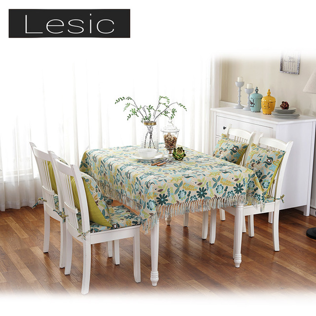 Soft Textile Lace Cute Contemporary Tablecloth