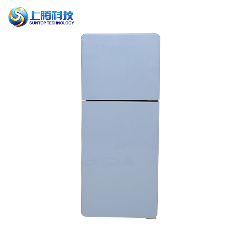 Easy cleaning home optional double door fridge under counter refrigerator glass door refrigerator