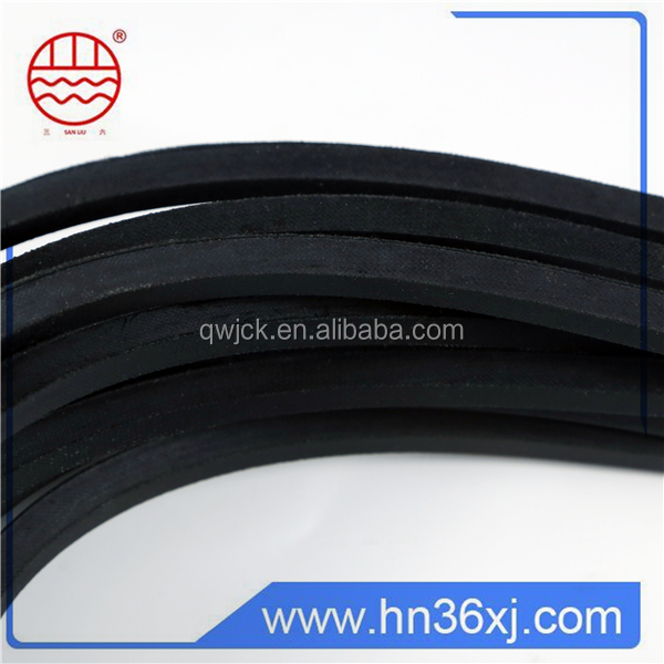 Narrow v belt, wrapped v belt, industrial v belt